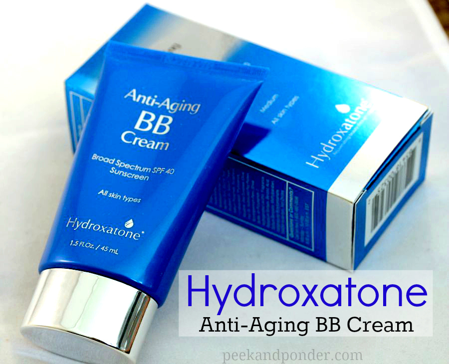 hydroxatone anti aging bb cream peek ponder. Black Bedroom Furniture Sets. Home Design Ideas