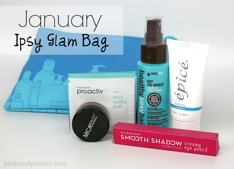 We have some spoilers for the January Ipsy Glam Bag Plus! Thanks for the heads up, aussiejakes! (These are some of the items that Ipsy is sending in January.