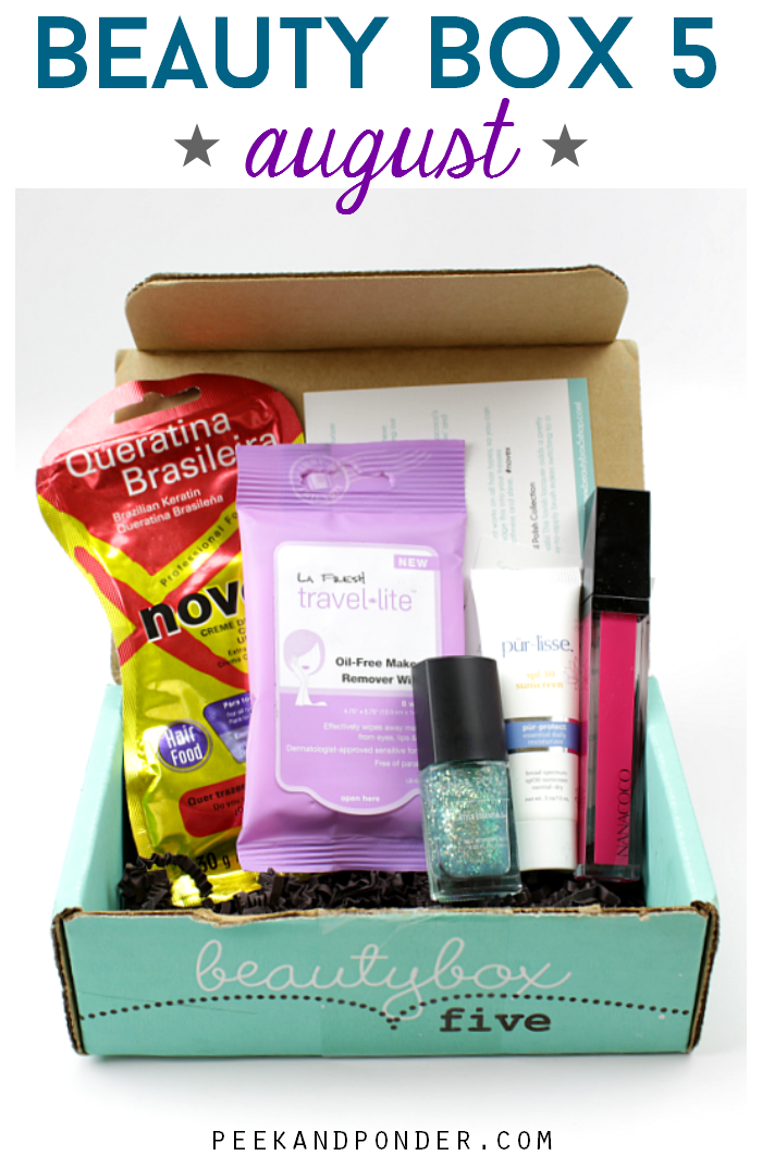 This month's Beauty Box 5 theme is Adventure Awaits. It's filled with pretties to get you prepped for all your summer adventures. From a pop of color to an everyday .