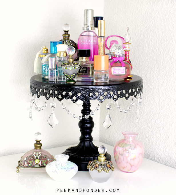 Perfume Display Makeover – Before & After