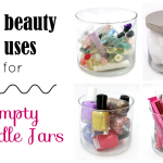 7 Beauty Uses for an Empty Candle Jar