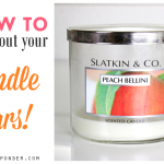 How to Clean Out Candle Jars to Repurpose Them