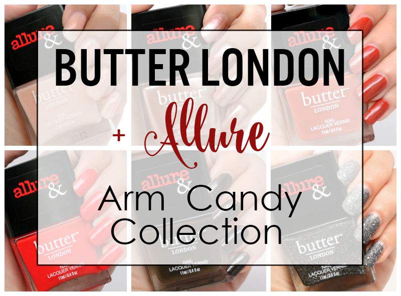 Butter London + Allure Arm Candy Collection