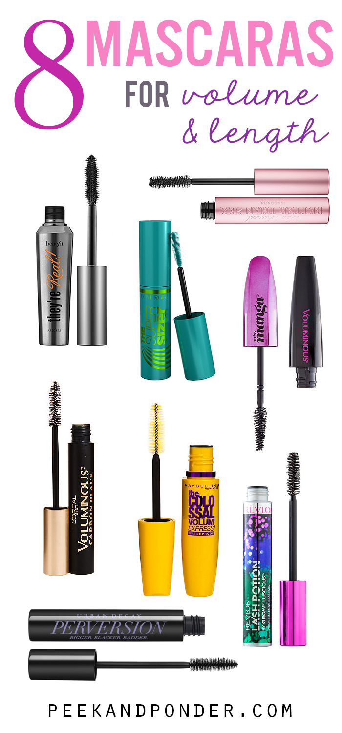 8 Mascaras that Lengthen and Volumize Your Lashes!