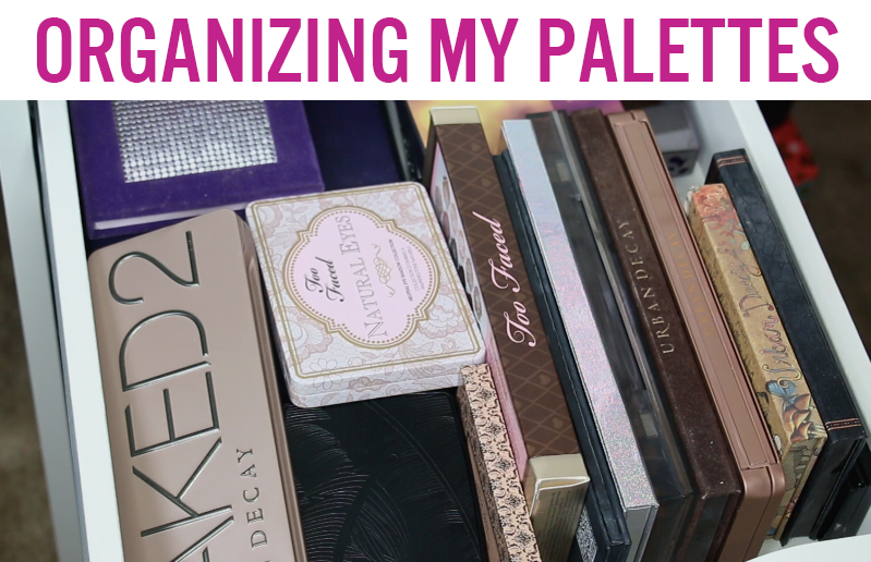 Video: Organizing My Eye Palettes