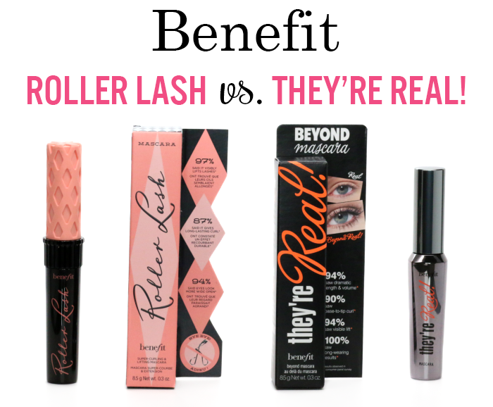 Benefit Mascaras: Roller Lash vs. They're Real | Peek & Ponder