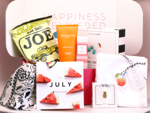 Popsugar Must Have Box – July 2016