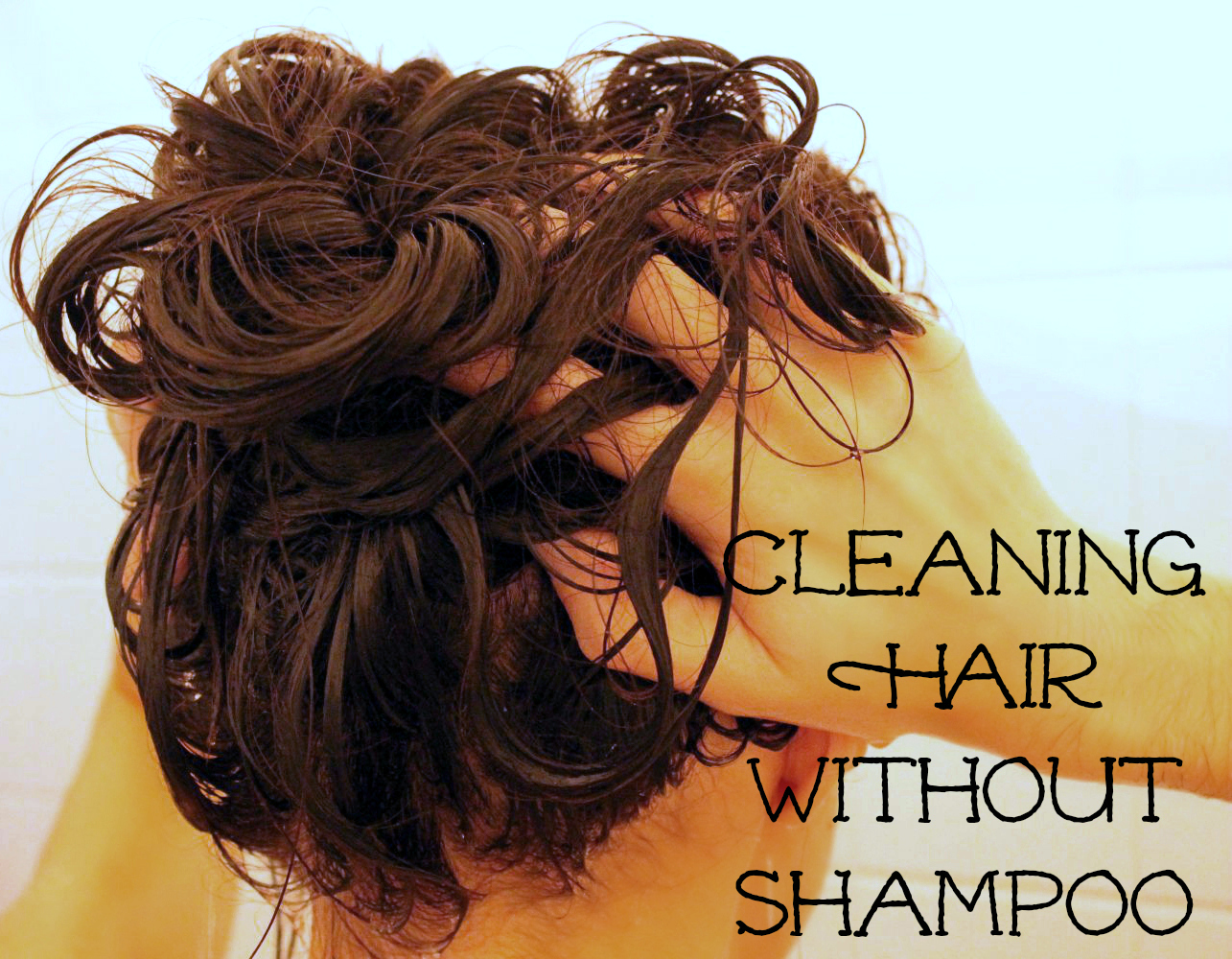 how to clean scalp without shampoo