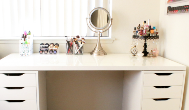 Beau DIY Makeup Vanity With IKEA